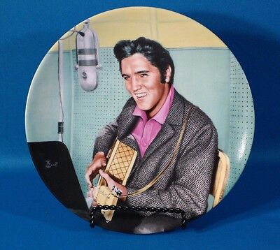"Delphi  Elvis Presley  Looking at the Legend ""A Studio Session"" Plate"