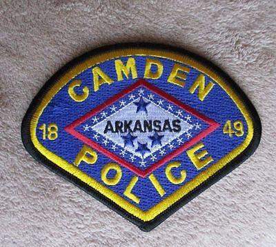 """Camden Police Patch - Arkansas - 4 1/2"""" x 3 1/2"""""""