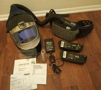 3m Speedglas Welding Helmet 9000xf Papr Air Adflo Filtering Respirator 9002x