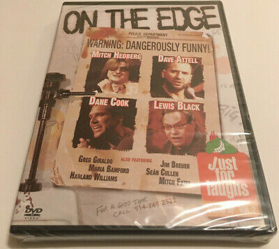 Just For Laughs - Stand-Up Vol. 2 - On the Edge (DVD 2006) Sealed BRAND NEW (Og Stands For)
