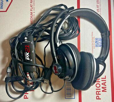 Turtle Beach Ear Force PX21 Black Headband Headsets for Multi-Platform
