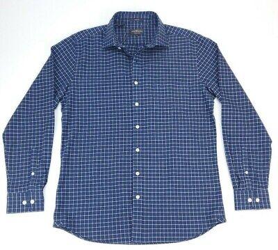 Rodd & Gunn Men's M Aldershot Sport Fit Flannel Check Long Sleeve Shirt Blue NWT image