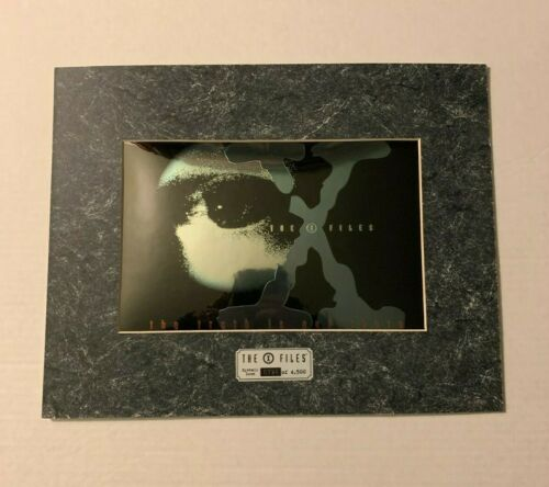 The X-Files Eyeball Icon #726 Limited Edition Framed Foil Print / Artwork