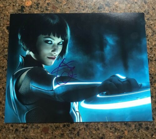 * OLIVIA WILDE * signed autographed 11x14 photo * TRON: LEGACY * 2