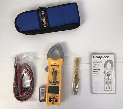 Fieldpiece SC260 Compact Clamp Meter True RMS & Magnet