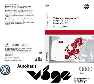 Original VW SD-Karte für Navigation Update RNS 315 AZ Europa West (V9) + 2017 online kaufen