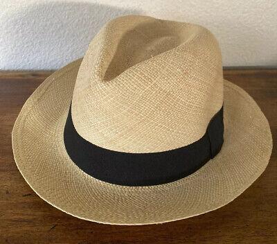 Henschel Hat ! Genuine Panama Hat Made In Equator Size XL