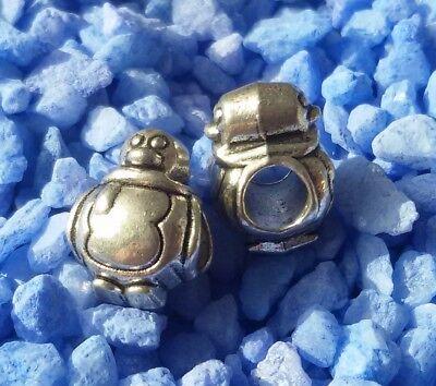 Pinguin Armband (5/10/15 Pinguin Beads Großloch Perlen Paracord Armband Großlochperlen T60)