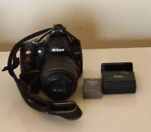 Nikon D3000 DSLR With Nikon 18-55 VR Lens Noble Park North Greater Dandenong Preview