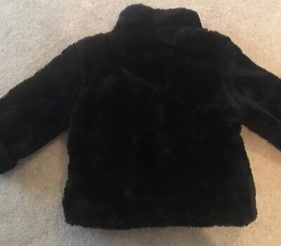 Faux Fur Coat Girl (Girl Gap  4 Faux Fur Coat Jacket)