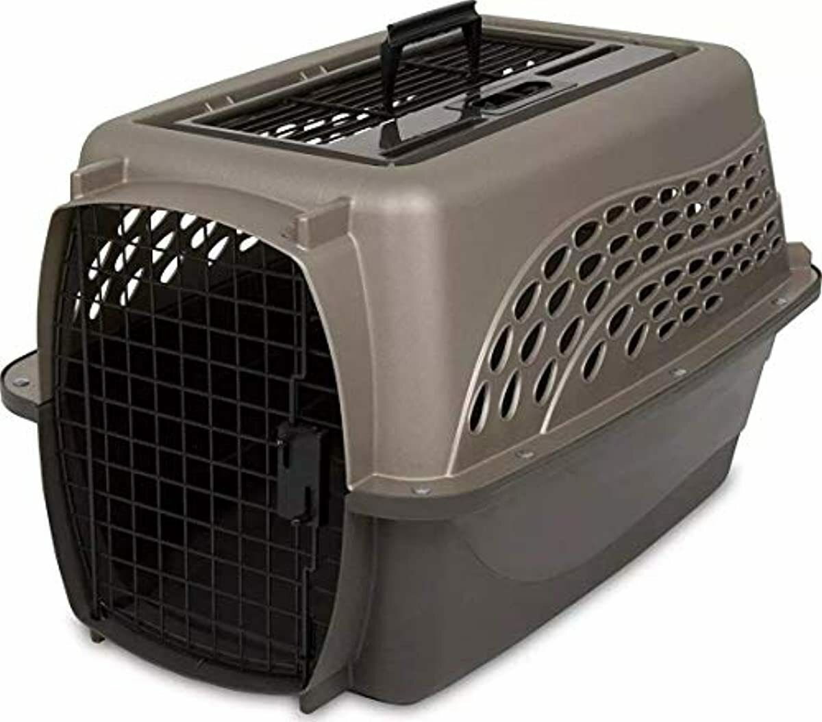 Petmate 24 in Two Door Top Load Dog Cat Pet Crate Carrier Po