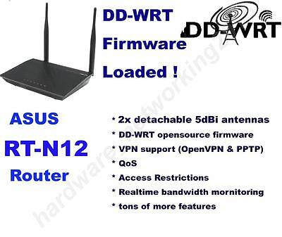 ASUS RT-N12 Wireless N300 Router with DD-WRT VPN Firmware,Can SETUP VPN service Asus Wireless Set Up