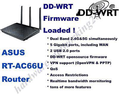 Asus RT-AC66U RT-AC66R Wireless Router dd-wrt VPN Firmware,Can SETUP VPN service Asus Wireless Set Up