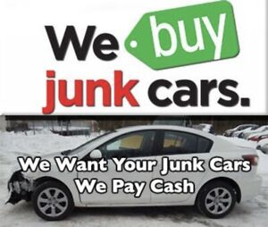 WE PAY TOP CASH FOR YOUR SCRAP CARS DEAD OR ALIVE (289)7887922