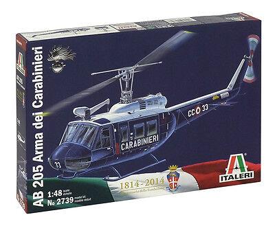 Italeri 1:48 - 2739: AB 205 Arma dei Carabinieri - Bausatz - NEU + OVP