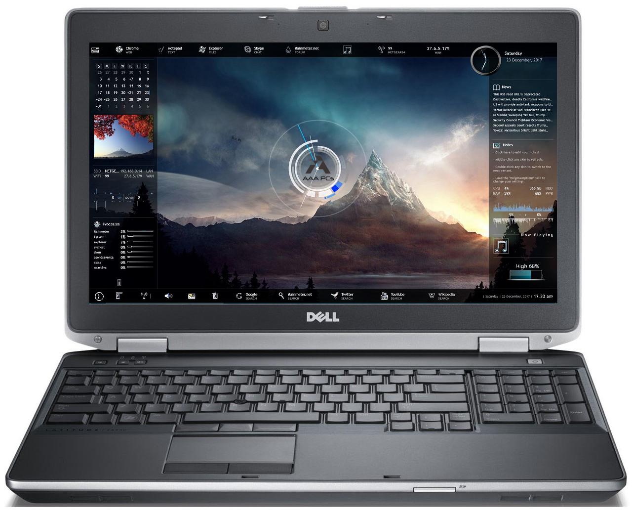 """Laptop Windows - 15.6"""" Dell Latitude Intel Core i5 3.30GHz 16GB 2TB SSD Win10 Pro HDMI Webcam DVD"""