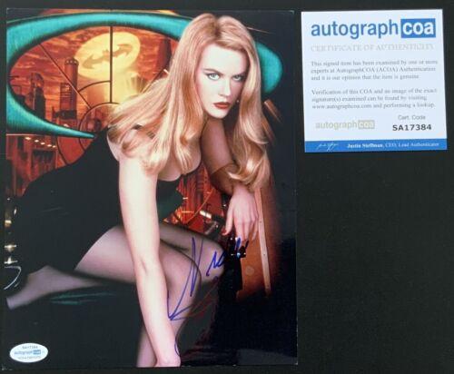 Nicole Kidman signed 10x8 Batman photo image A UACC RACC Trusted seller ACOA