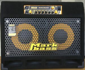 MARKBASS 2X10 COMBO BASS AMP and TUBE COMPRESSOR PEDAL Boronia Knox Area Preview
