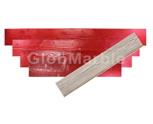 "Concrete Stamp Set of 5 mats 11"" Wood Plank . Wood texture Stamp Mat SM 5300S"