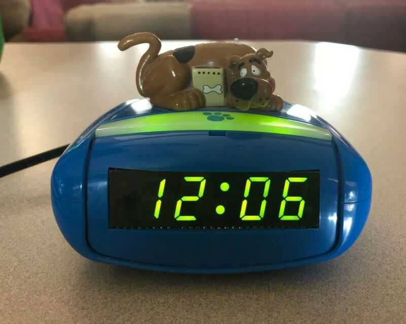 Scooby-Doo Alarm Clock