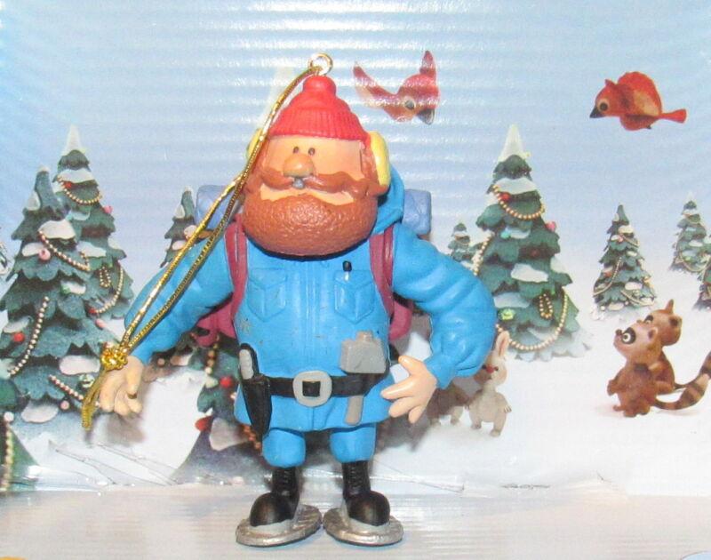 "Rudolph Island of Misfit Toys YUKON CORNELIUS 3.5"" PVC Ornament Figure Figurine"