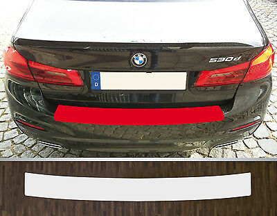 Lackschutzfolie Ladekantenschutz transparent BMW 5er G30 Limousine, ab 2017