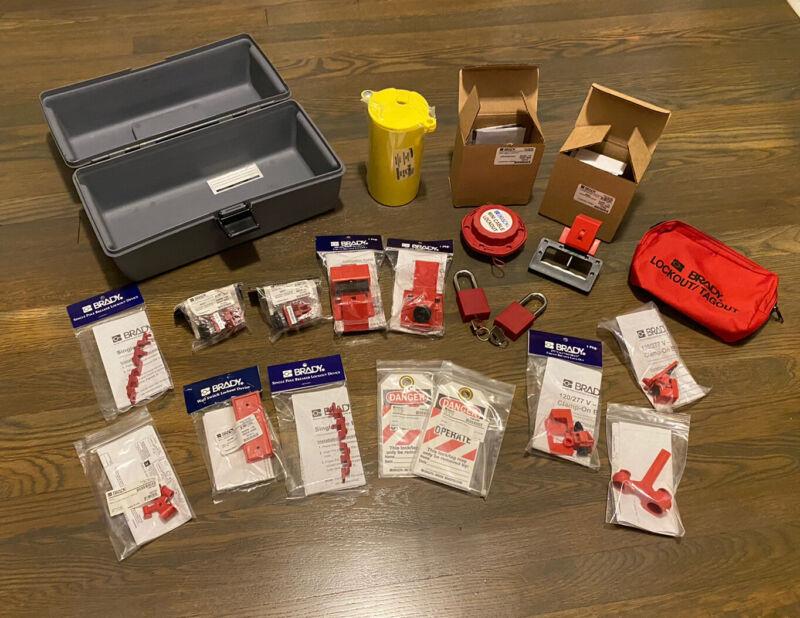 New Brady Lockout Tagout Safety Toolbox Kit