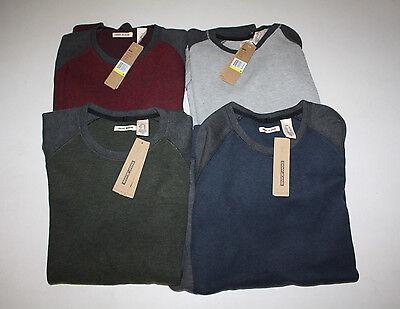 NWT Mens DKNY Long Sleeve Crew Neck Sweater M L XL 2XL Blue Green Gray Maroon