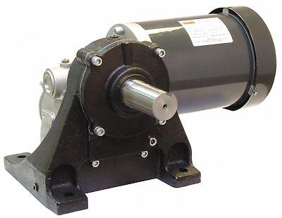 Dayton Gear Motor 4fdy6 Speed Reducer 251 Reversible 2hp 3ph New