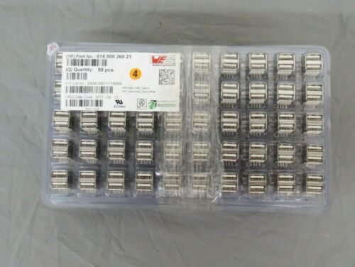 (250) Wurth Electronics 61400826021 WR-COM USB Type A Dual Horizontal Connectors