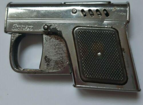 Vintage Original Gun Shaped Pistol Cigarette Gasoline Lighter Pistolet tobacco