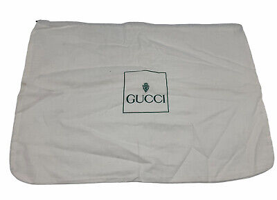 Vintage Authentic GUCCI Dust Cover Pouch Bag Drawstring Medium Large AE