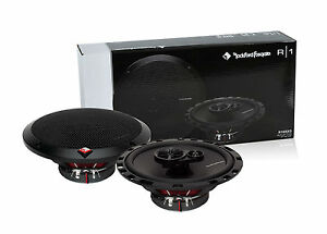 ROCKFORD-FOSGATE-6-1-2-034-3-Way-Car-Speakers-Pair-New-6-5-034-R165X3