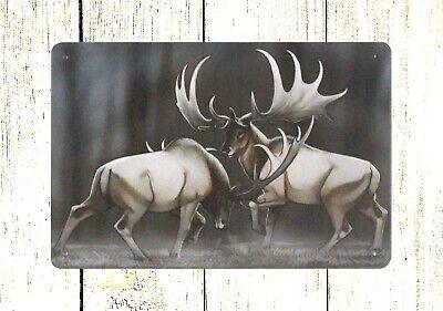 US SELLER- moose animal tin metal sign moose animal tin metal - Moose Tin Sign