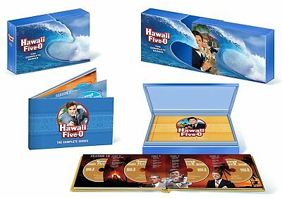Hawaii Five-O: The Complete Series DVD Box Set (Region 1, 72 Discs, 2013)