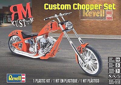 Revell Monogram 1/12 Harley Davidson Custom Chopper Set Plastic Model Kit NEW