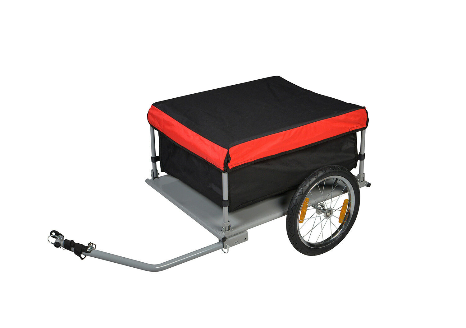 Bike Cargo Trailer Bicycle Carrier Cart Shopping Luggage Tra