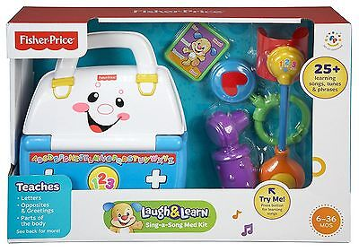 Fisher-Price Laugh and Learn Sing-a-Song Med Kit - Learning Toy - Baby, Toddler