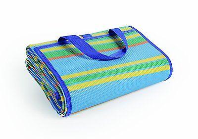 Beach Mat Large Picnic Blanket Straw Sand Free Sandless Camping Rug Waterproof