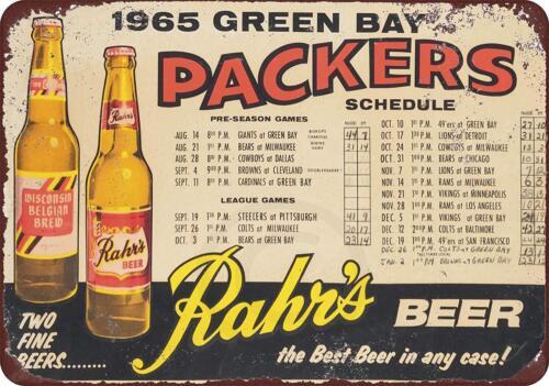 1965 Green bay Packers Rahr
