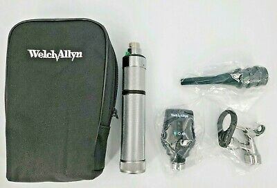 Welch Allyn Veterinary Operating Otoscope Ophthalmoscope Diagnostic Set - New