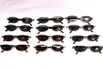 Classic cool metal frame Sunglasses narrow lens assorted frames lot of (Narrow Frame Sunglasses)