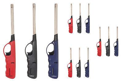12 x Stabfeuerzeug XXL Feuerzeug 27 cm befüllt & nachfüllbar Gasfeuerzeug Gas