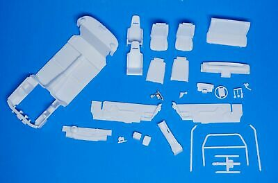 Revell 1990 Ford Mustang LX 5.0 Interior Set w/Stock & Drag Parts 1/25 (1990 Ford Mustang Parts)
