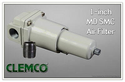 Compressed Air Inline Moisture Water Separator Filter 1 High Cfm