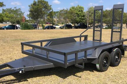 HEAVY DUTY MACHINERY TRAILER 12X6 2900KG GVM AUSSIE BUILT!