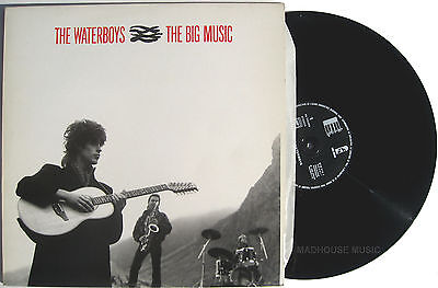 "WATERBOYS 12"" Big Music FRENCH Mint 1984 Bury My Heart / Earth Only Endures"