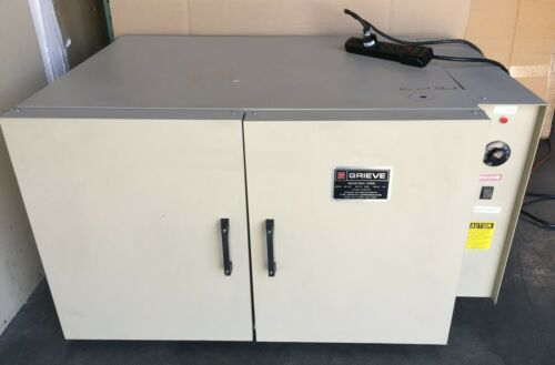 Grieve Industrial NB-350 Mechanical Convection Bench Oven; 7 cu ft, 115V, 350˚ F