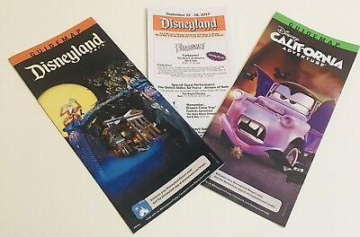 Disneyland & DCA California Adventure HALLOWEEN Maps Times Guide 2017 (Halloween California Adventure)