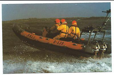 SHIPPING - ATLANTIC 21 CLASS RNLI LIFEBOAT Postcard